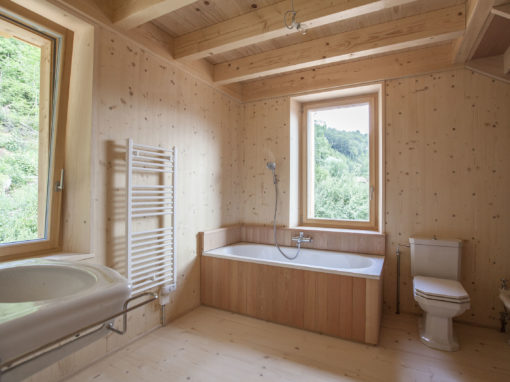 Habillage douche et baignoire