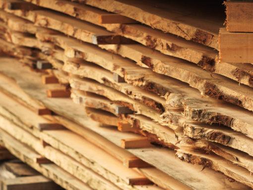 Stockage de notre bois