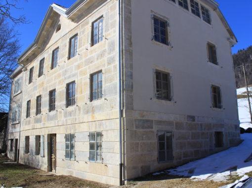 Fassade unter Denkmalschutz