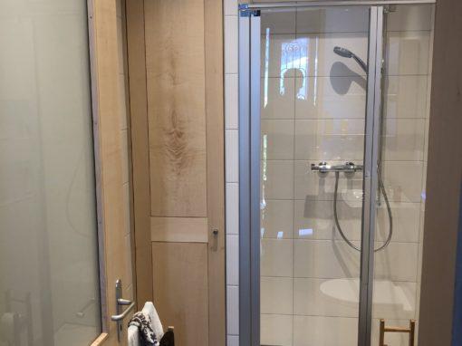 Salle de bain en érable